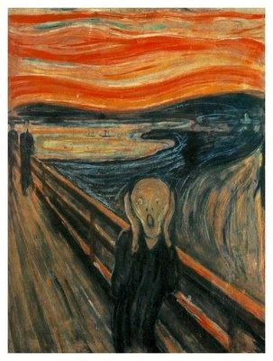 The Scream - Edwin Munch (1893)